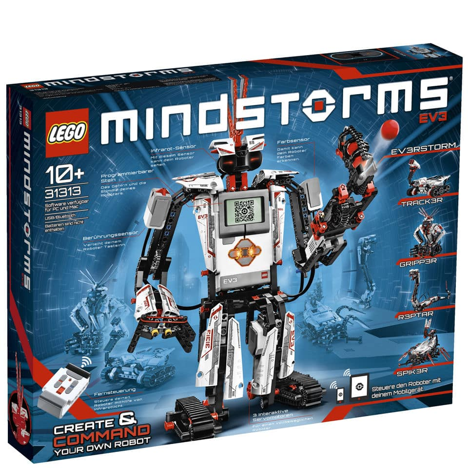 Lego mindstorms: Ev3 robot building kit (31313)  iwoot $259.00