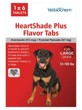 Generic Heartgard Plus for Dogs ($13.95)