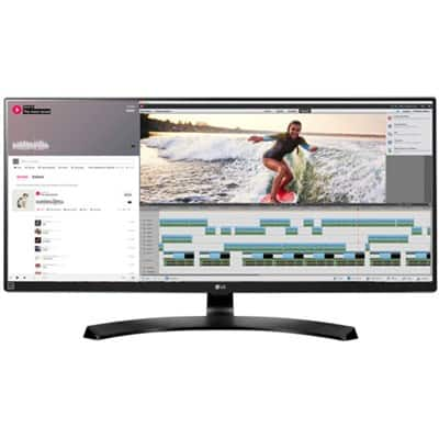 "LG 34UM88C-P 34"" 21:9 UltraWide 3440 x 1440 FreeSync IPS Monitor $459.99"