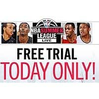NBA Store Deal: NBA Summer League Pass Trial - FREE July 4, 2015 - TODAY ONLY.
