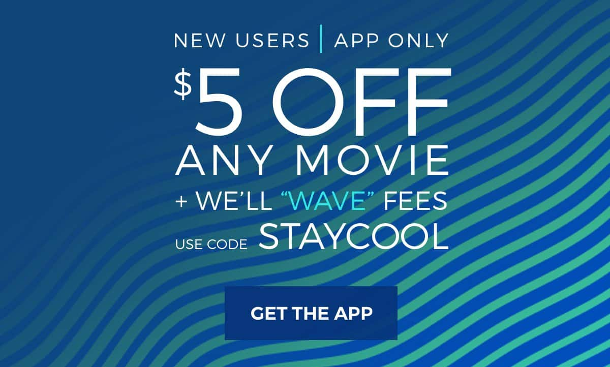 $5 Off Atom Ticket Purchase with App, use code STAYCOOL (New users only)