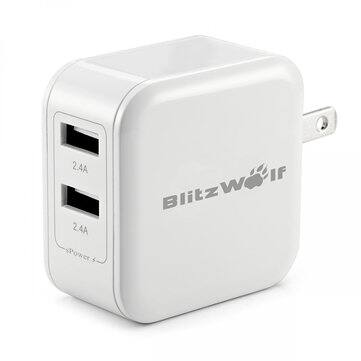 24W 4.8A Smart 2-Port USB Wall US Charger $1.99 FS @ Banggood.com