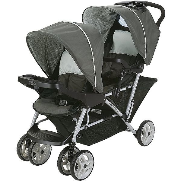 Graco DuoGlider - $81.49, Roomfor2 - $71.99 and Ready2grow - $104.99 (All double strollers), Graco SnugRide Infant Car Seat - $63.48