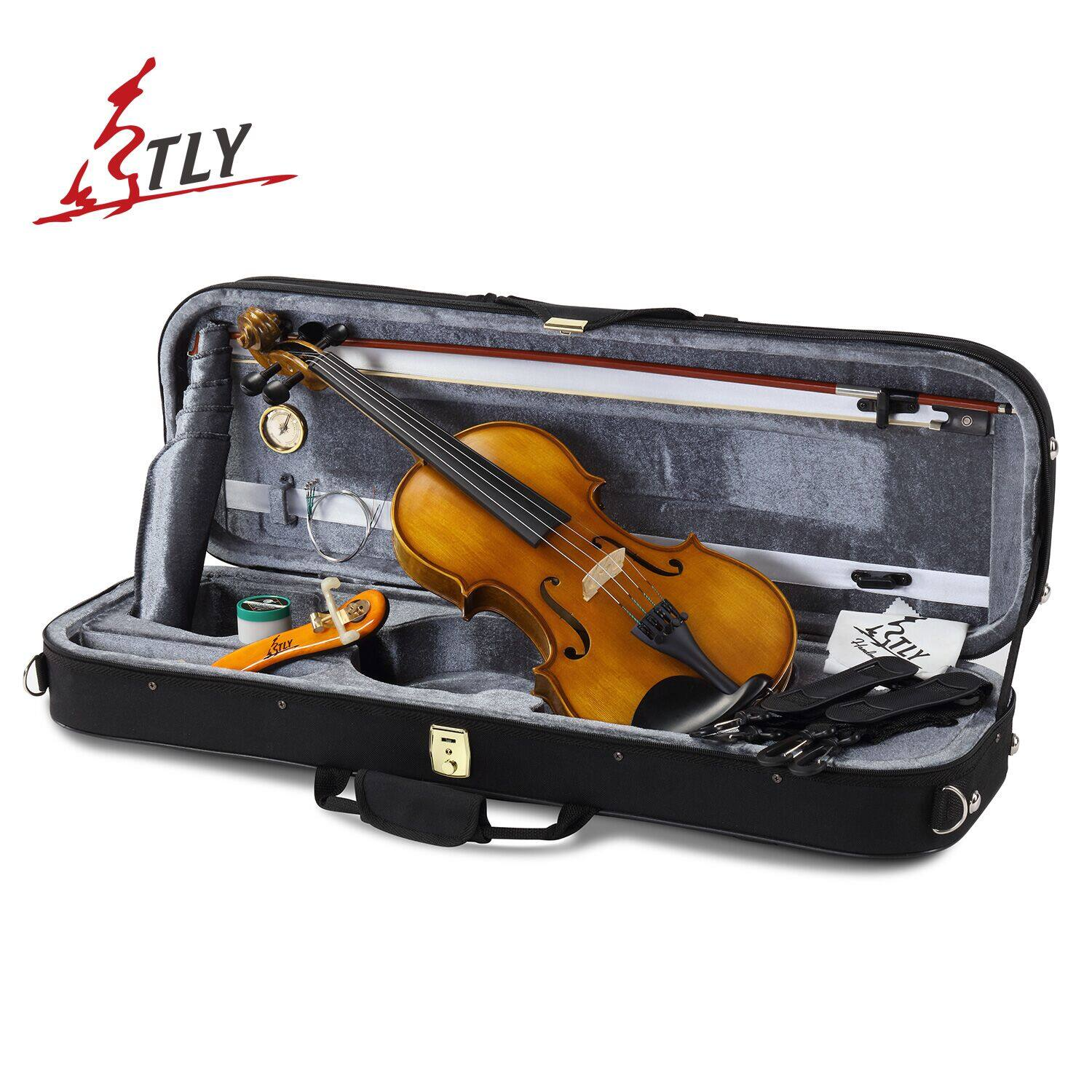 TLY Handmade Violin for Beginners,Discount 60% OFF, After Code Price: $107.92 & Free Shipping