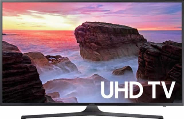 "Samsung 65"" Class (64.5"" Diag.) LED 2160p Smart 4K Ultra HD TV - Gray $1,199.99 w/ FS @ Best Buy"