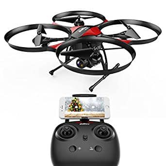 DROCON U818PLUS WIFI FPV Drone With Wide-Angle HD 2MP Camera (For Beginners) $69.99+ Free Shipping at Amazon.