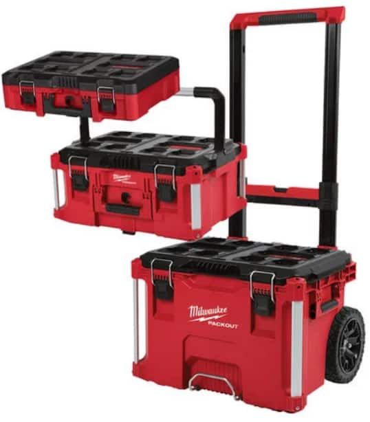 Milwaukee PACKOUT 3pc Set $169, Toolbox w/Foam Insert $40, and MORE @ Northern Tool (w/Store Pickup) $169.97