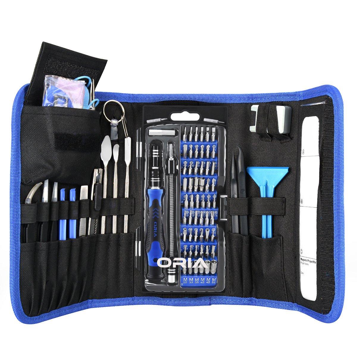 ORIA Precision Screwdriver Set, 86-in-1 Magnetic Repair Tool Kit, Screwdriver Kit Deal price $23.09 Reg.$32.99