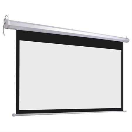 """92"""" 16:9 Electric Remote Control Wall Mount Projection Screen for $68.90 + FS @ Rakuten"""