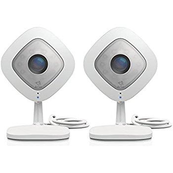 Alexa Deal - Arlo Q HD Security Camera 2 pack; 7 Days of FREE Cloud Recordings@$245