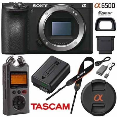 Sony a6500 Camera body @$1020 + Tax