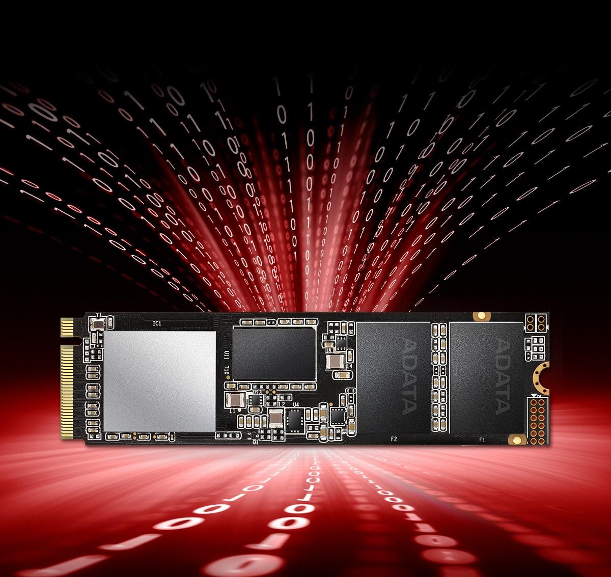 XPG SX8200 Pro 512GB PCIe Gen3x4 M.2 NVMe SSD 2280 $64.97