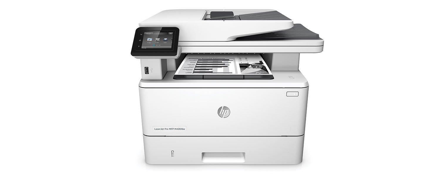 HP LaserJet Pro M426fdw Multifunction Wireless Laser Printer with Duplex $249