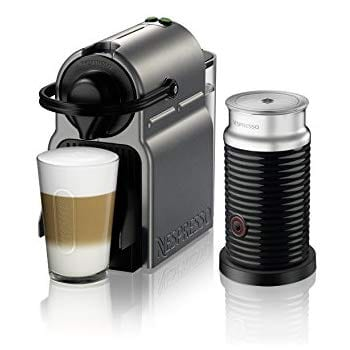 Nespresso Inissia Original Espresso Machine with Aeroccino Milk $99.99 at Amazon + FS