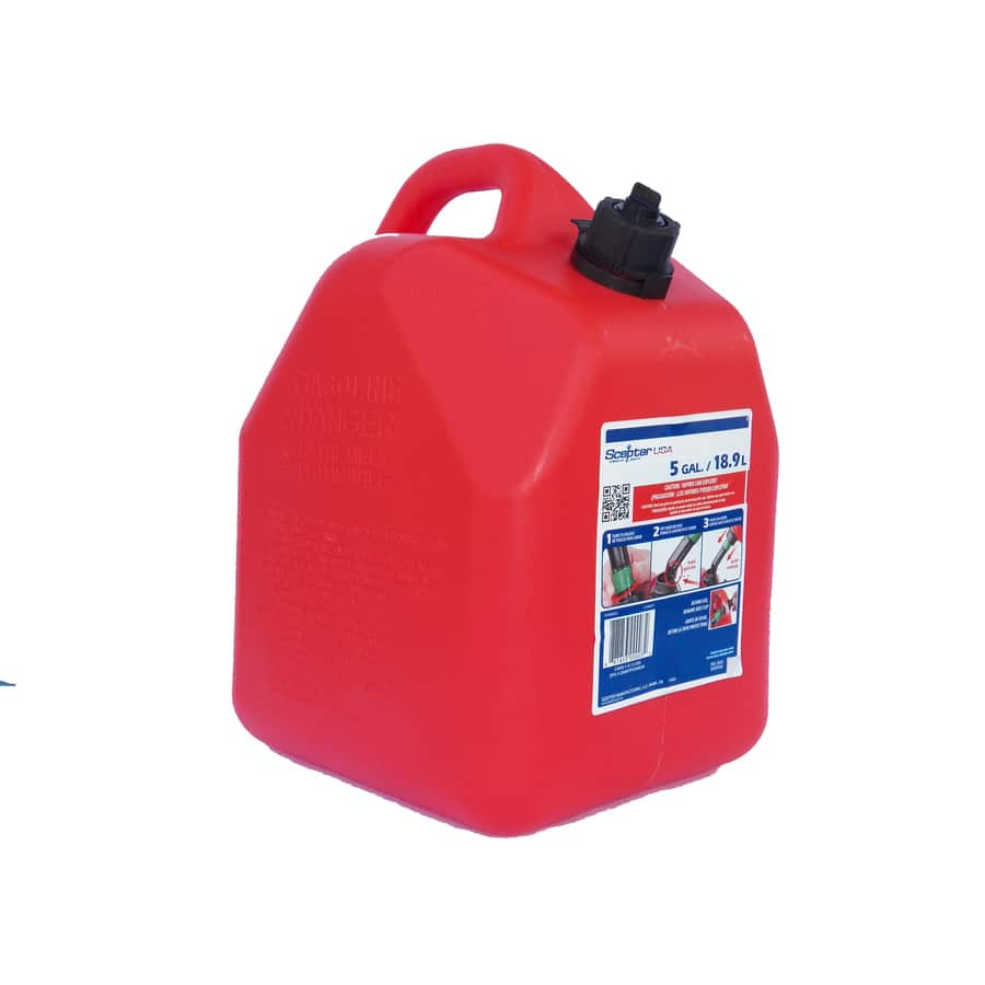 5 gallon gas can Lowes as low as $5.97 YMMV