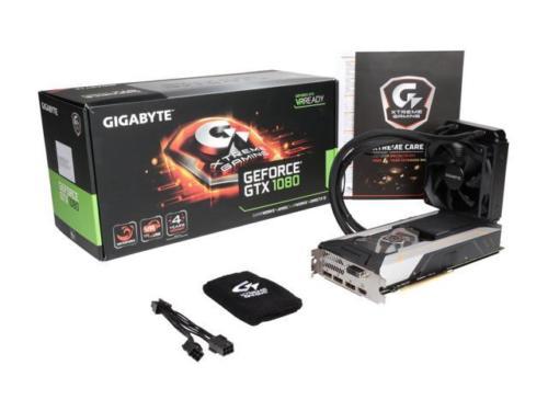 GIGABYTE GeForce GTX 1080 Xtreme Water Force -$569.99