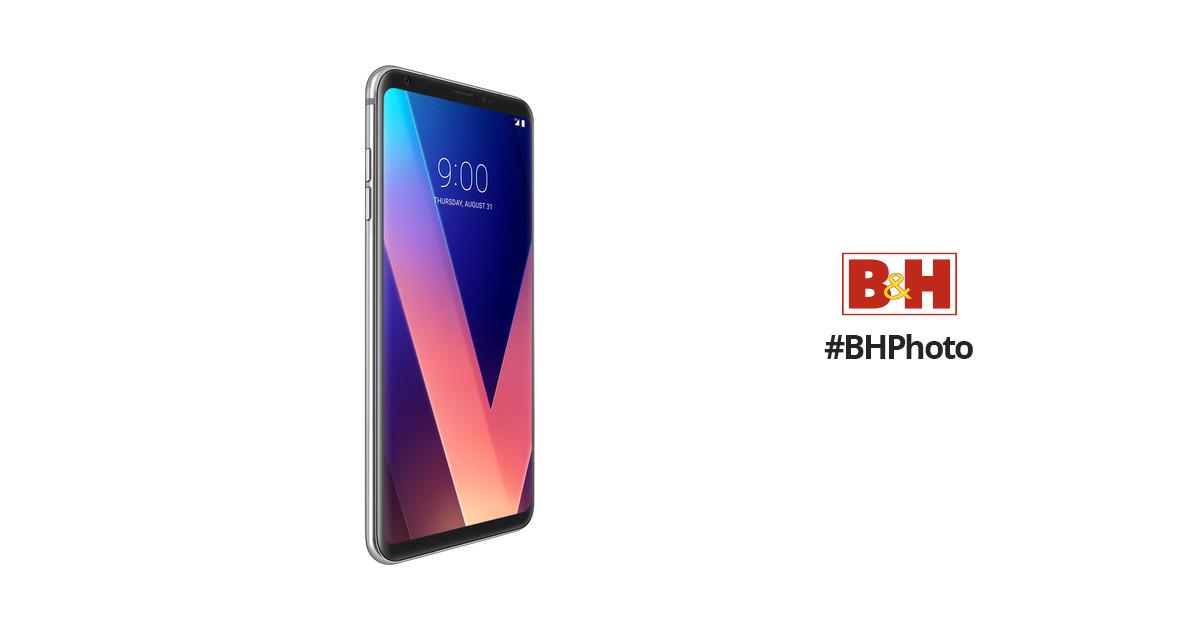LG V30 US998 64GB Smartphone (Cloud Silver) B&H $150 off $674.99
