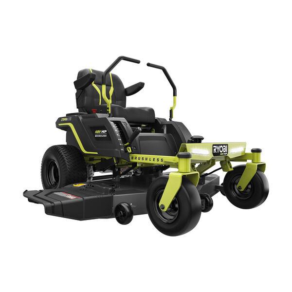 RYOBI 54 in. 115 Ah Battery Electric Riding Zero Turn Mower $4499