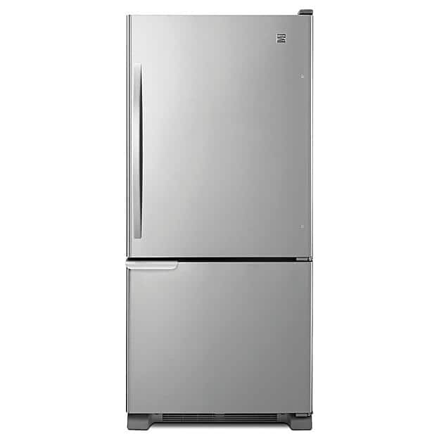 Kenmore 69313 19 cu. ft. Bottom-Freezer Refrigerator - Stainless Steel for $699.99 w/ FS @ Sears