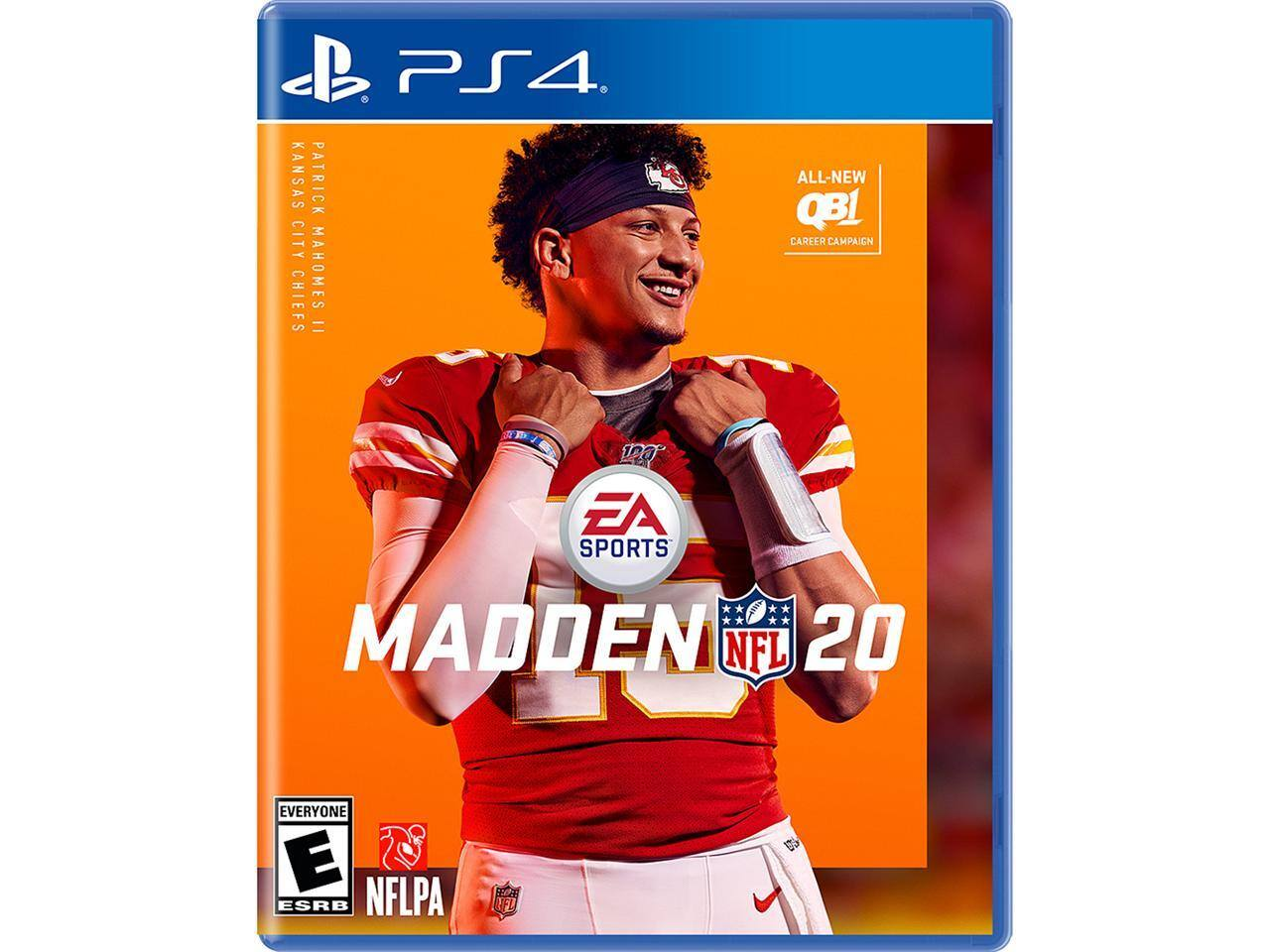 Madden 20 for PS4for $27.00