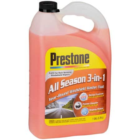 Prestone Deluxe Windshield Washer Fluid $1.50. Walmart in-store, YMMV. Brickseek