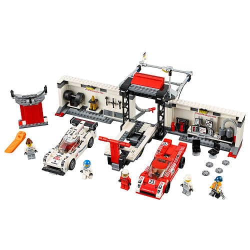 Lego 75786 Porsche 919 Hybrid and 917K Pit Lane - $56 (plus free LEGOLAND TICKET VOUCHER)