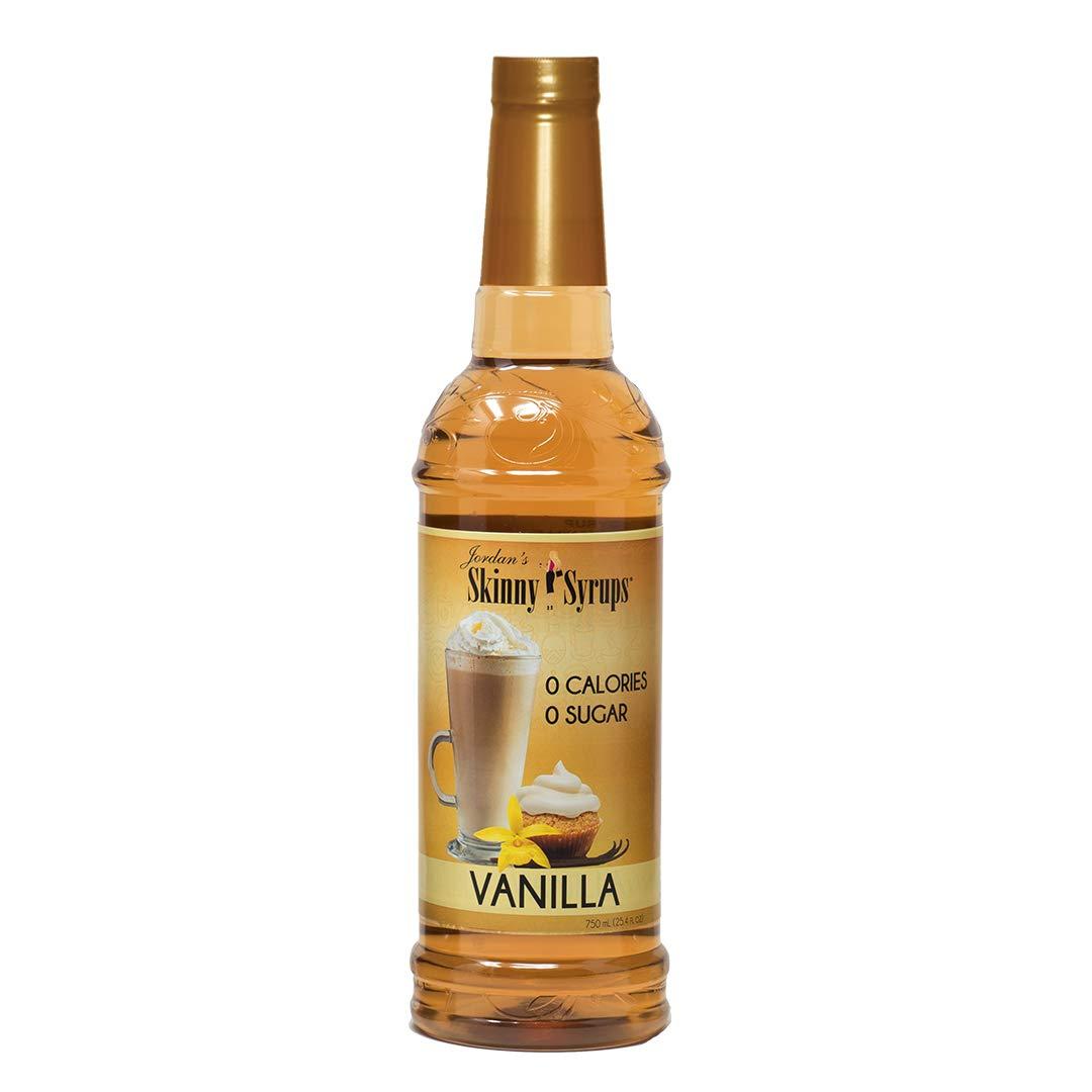 Jordan's Skinny Syrups 750ml/25.4oz Bottles vanilla - Pack of 6 - $9.49