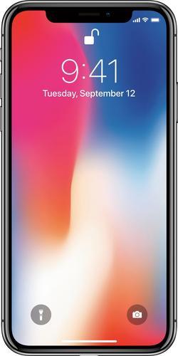 Apple - iPhone X 256GB - Space Gray (Verizon or ATT) BOGO upto $699.99 + $300 off $999.99
