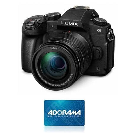 Panasonic Lumix G85 4K Camera with 12-60mm OIS Lens and $100 Adorama Gift Card for $997.99