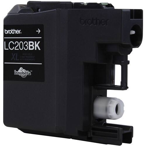 Brother LC203BK Black Ink for $15.55 or lower at Amazon