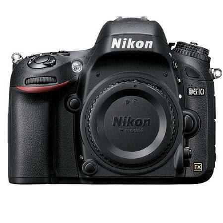 Nikon D610 DSLR Camera (Body Only, Refurbished) $1079.95 + Free Shipping