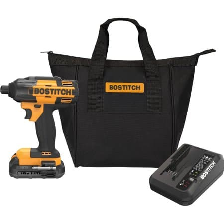 Bostitch 18V Impact Driver (Lithium Ion) $45.00 at Walmart *B&M YMMV Deal*