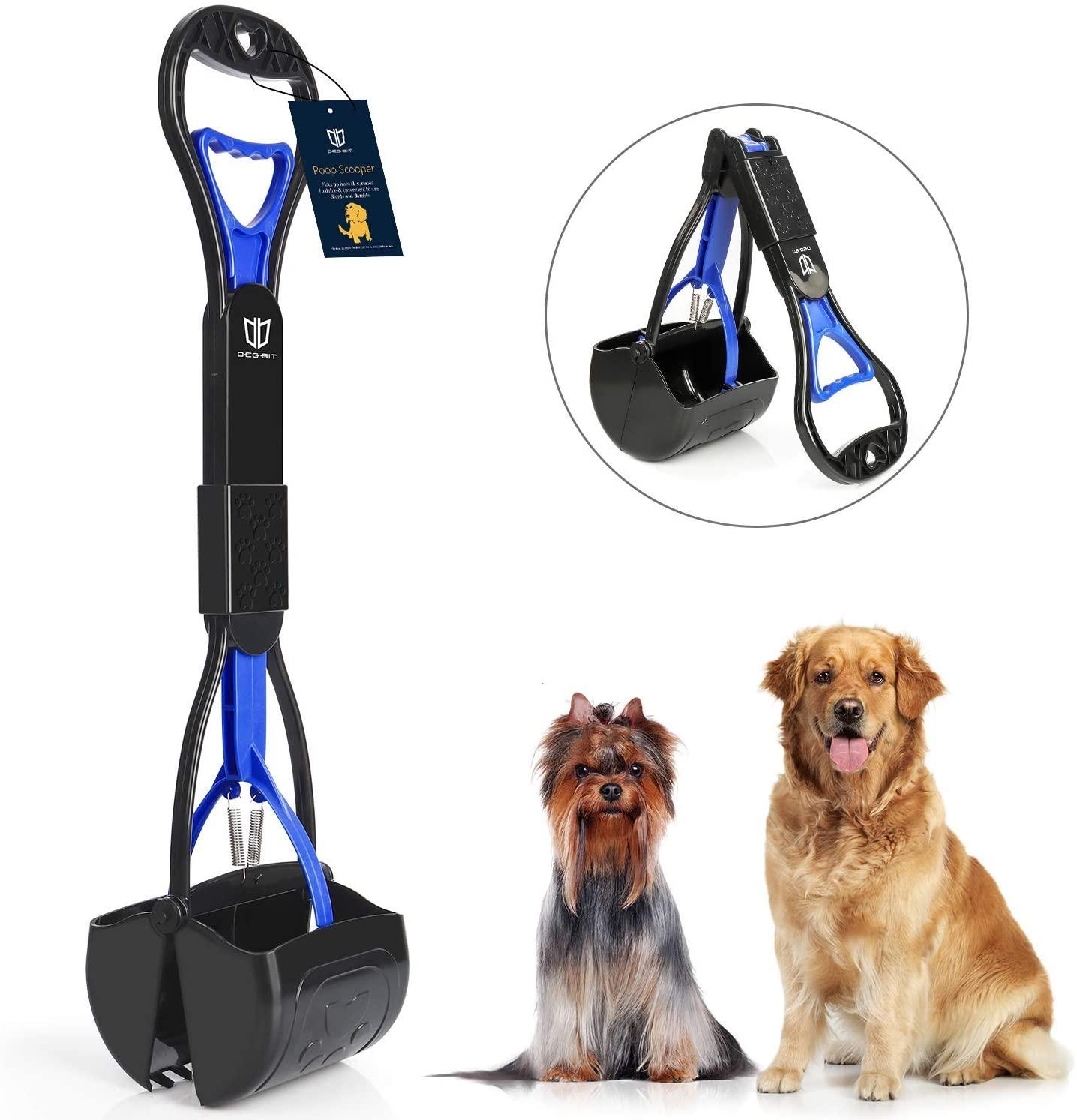 Long Handle Portable Pet Pooper Scooper $7.99