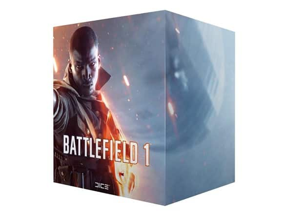 Battlefield 1 Exclusive Collector's Edition (Game not included) $12.99, shipping is $5