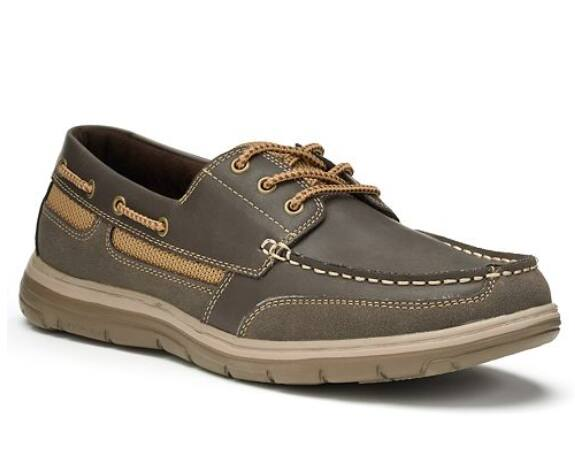 (Expired. $31.99 now) $27.99 Kohls Croft & Barrow® Men's Ortholite Vented Boat Shoes (in-store pickup or +$9 ship)