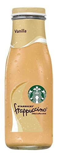 15-Count 9.5oz Starbucks Frappuccino Coffee Drink (Vanilla) $12.9