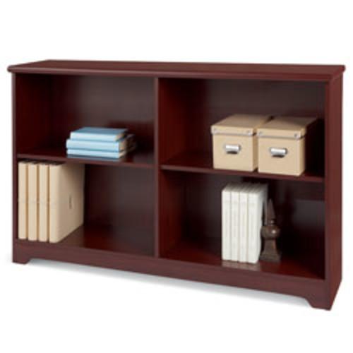 Realspace Magellan 2 Shelf Bookcase Bookshelf in Cherry $29.99 + FS