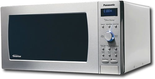 Panasonic 2.2 cu ft microwave oven for $168 (Model: NN-SD987SA)
