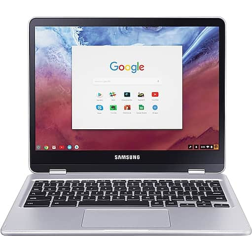 """Samsung ChromeBK Plus 12.3"""" 2-in-1 Chromebook with 4GB Memory and 32GB Storage for $264.07 at FRYS"""