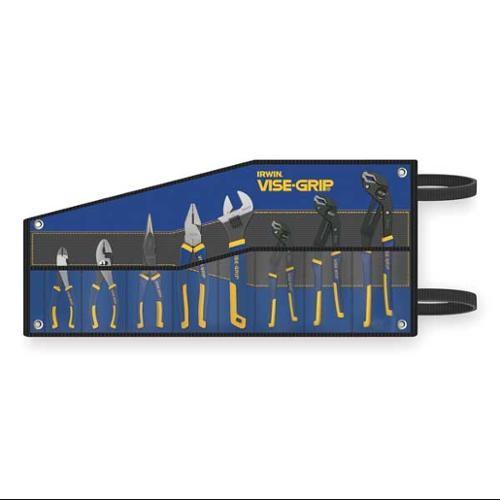IRWIN VISE-GRIP GrooveLock Pliers Set, 8 Piece, 2078712 [Regular Pliers Set] $63.99