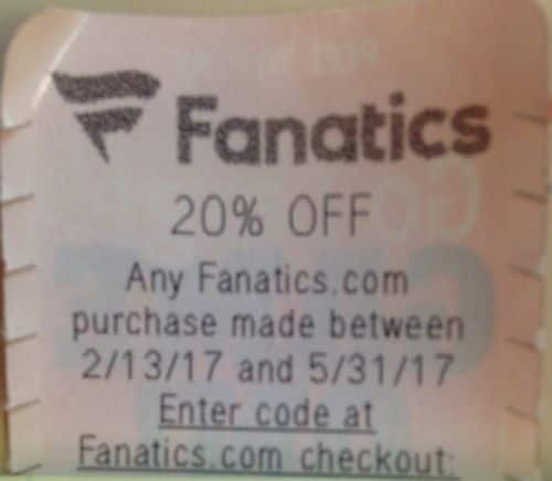Fanatics Coupons All Active Fanatics Coupon Codes & Coupons - Up To 50% off in December Fanatics is your online fan shop for all different types of sports apparel.