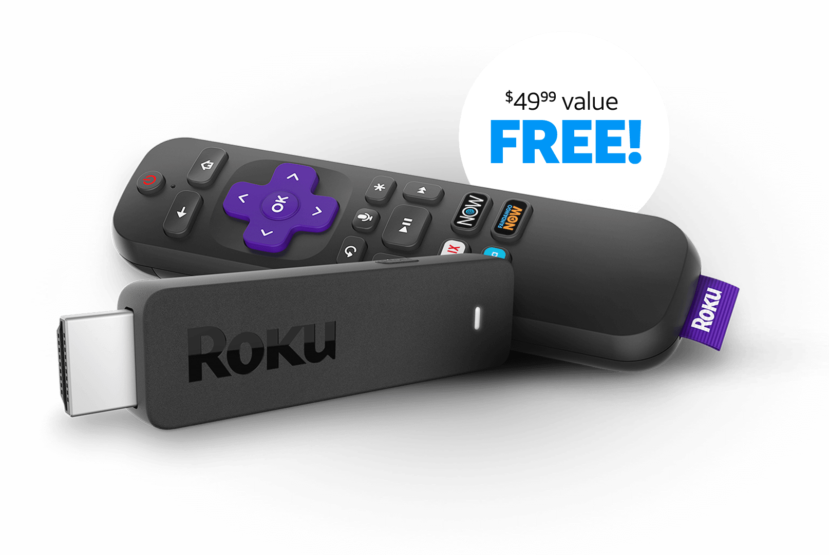 Bank of America cards: spend $35 at DirecTV Now, get $35 back+free Roku streaming stick (YMMV)
