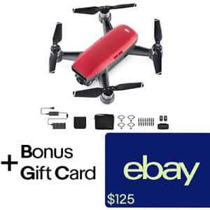 DJI Spark Fly More Combo $599 with $75 eBay gift card (Red Combo - $125 GC) (No Tax, FS)