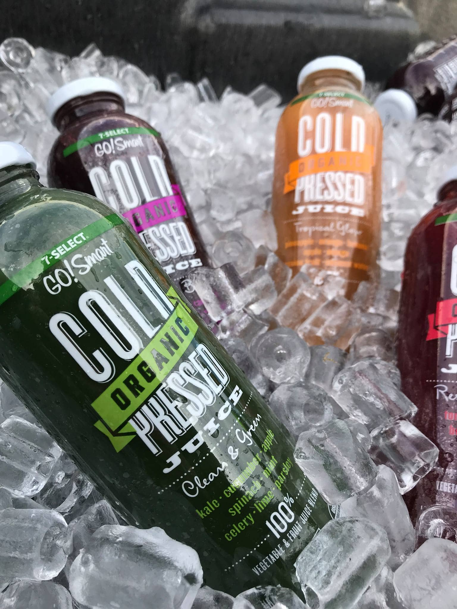 Free 7-Eleven Cold press juice smoothies