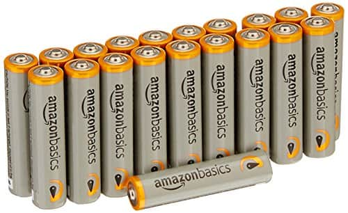 AmazonBasics AAA 1.5 Volt Performance Alkaline Batteries - Pack of 20 for $4.20