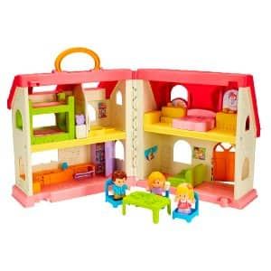 Fisher-Price Little People Surprise & Sounds Home Playset - $22.99 + FS w/ prime