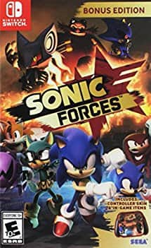 Sonic Forces Bonus Edition - Nintendo Switch - $24.99 - AMAZON + FS w/ prime