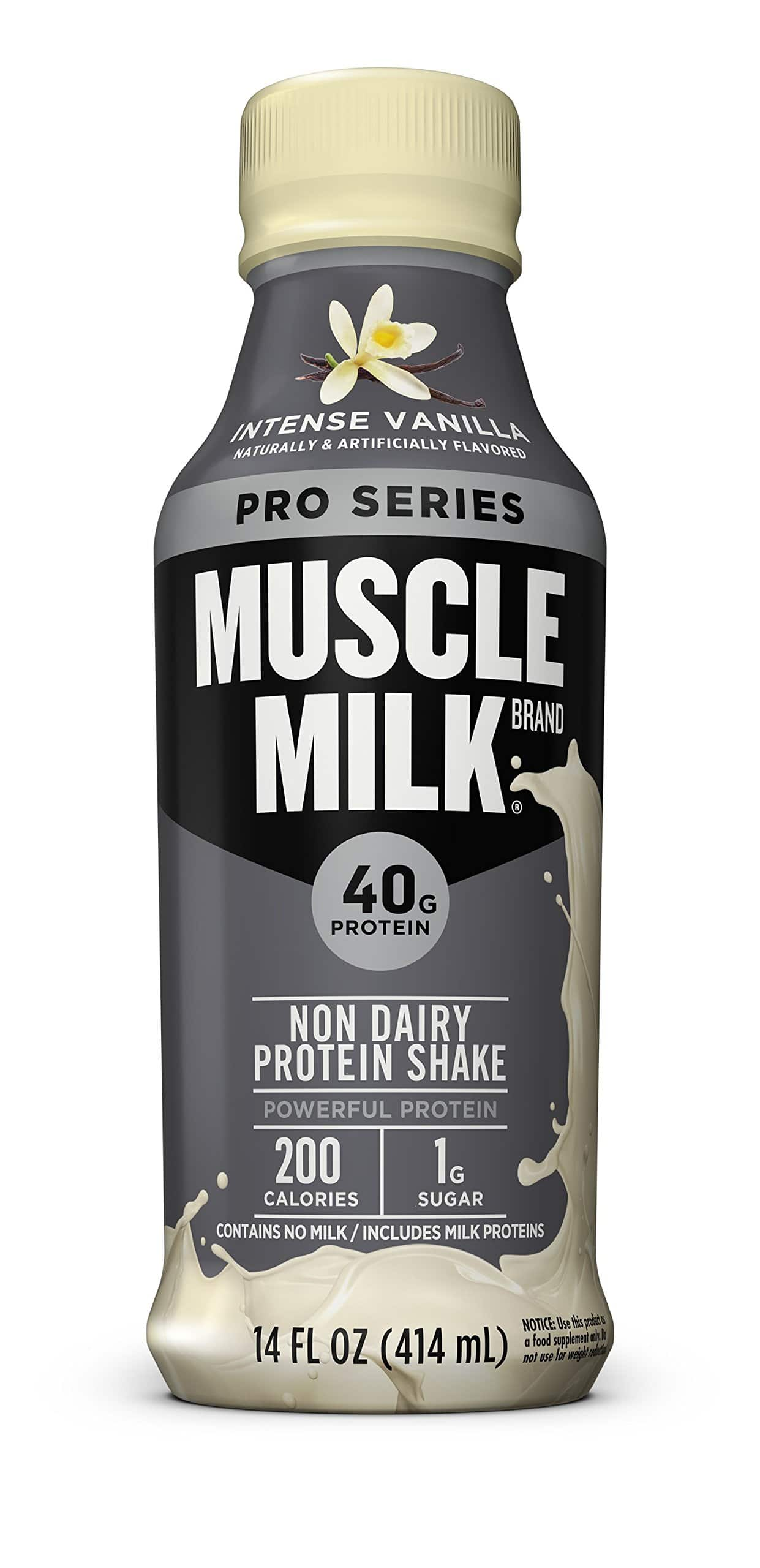 Muscle Milk Pro Series Protein Shake, Crushing Cookies 'N Crème, 40g Protein, 14 FL OZ, 12 count - As low as $8.14 - Amazon w/ SS