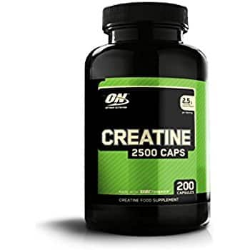 Optimum Nutrition Micronized Creatine Monohydrate Capsules, 2500mg, 300 Capsules - As low as $12.28 w/ SS - Amazon