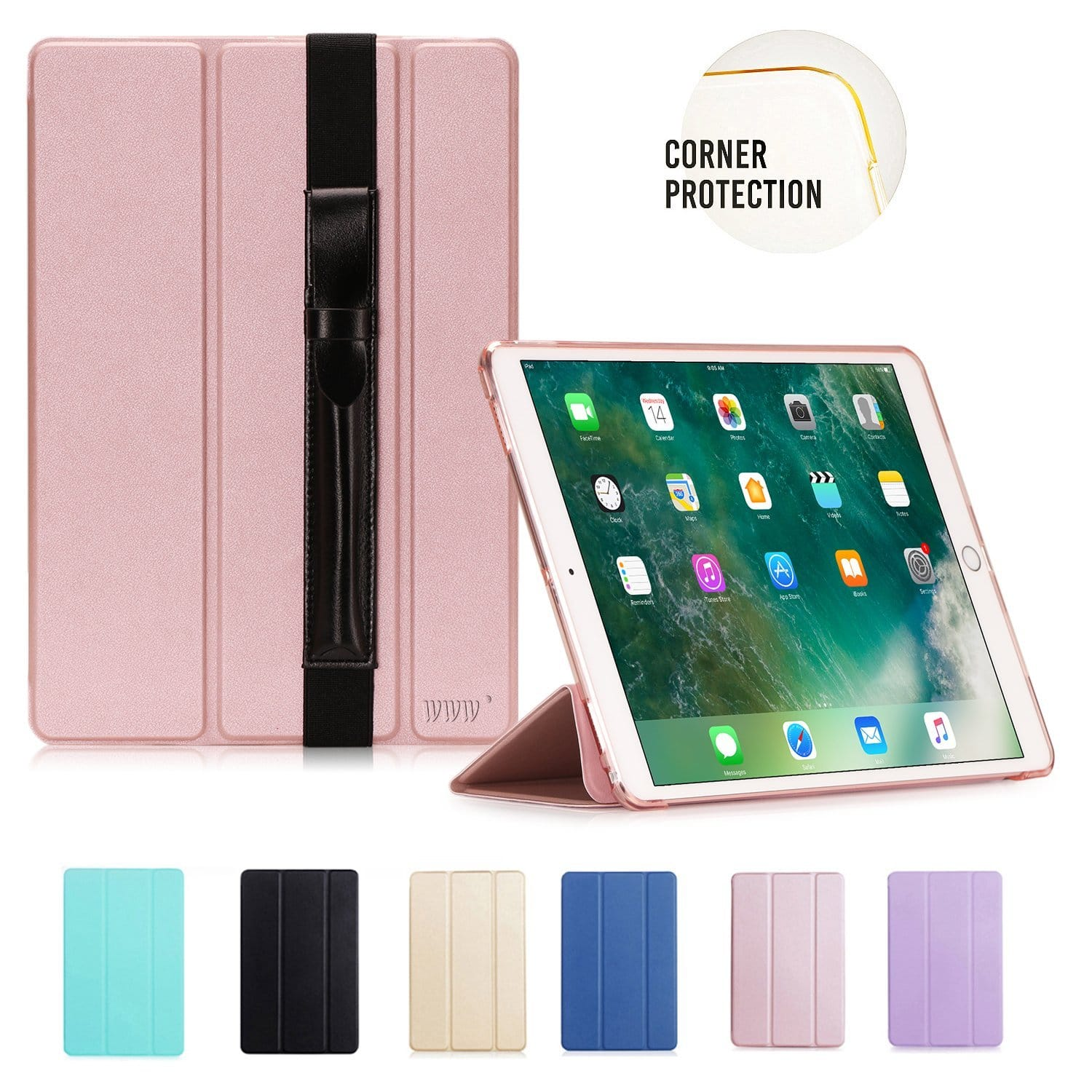 iPad Pro 10.5 Case with Apple Pencil Holder $3.9 @Amazon